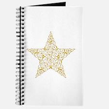 Beautiful Gold Star Journal