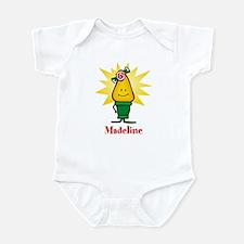 Girl Christmas Light Infant Bodysuit