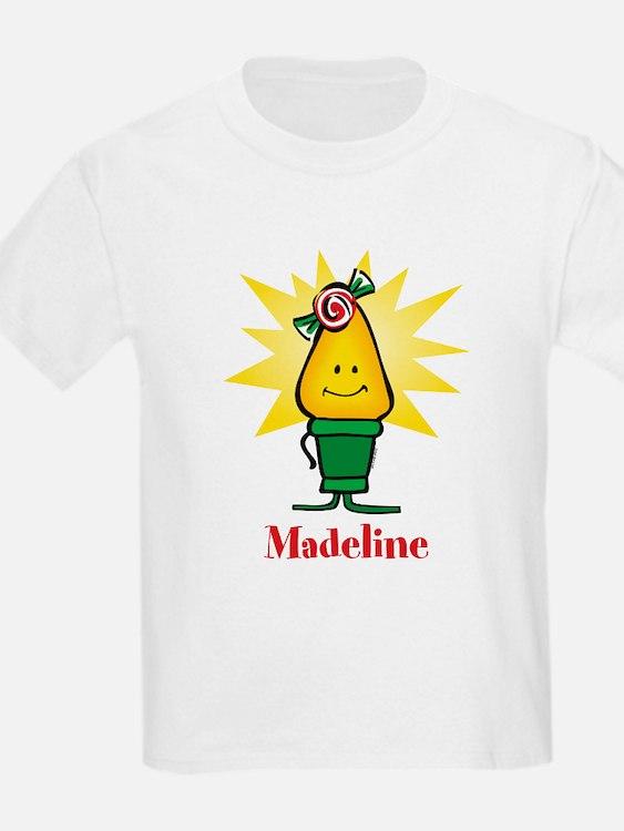 Girl Christmas Light T-Shirt