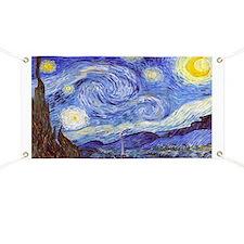 'The Starry Night' Van Gogh Banner