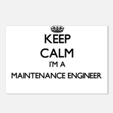 Keep calm I'm a Maintenan Postcards (Package of 8)