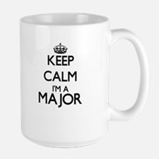 Keep calm I'm a Major Mugs