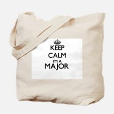 Keep calm I'm a Major Tote Bag
