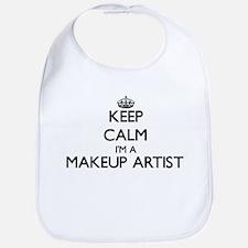 Keep calm I'm a Makeup Artist Bib