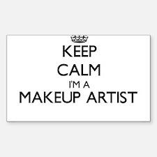 Keep calm I'm a Makeup Artist Decal