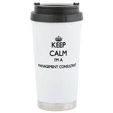 Keep calm I'm a Managem Travel Coffee Mug