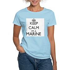 Keep calm I'm a Marine T-Shirt