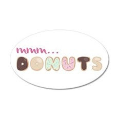 Mmm.. Donuts Wall Decal