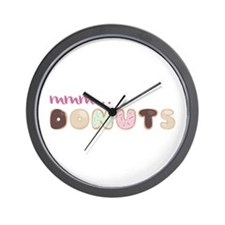 Mmm.. Donuts Wall Clock