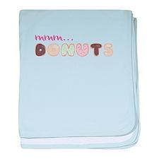 Mmm.. Donuts baby blanket