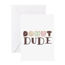 Donut Dude Greeting Cards