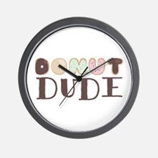 Donut Dude Wall Clock