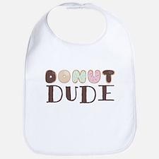 Donut Dude Bib