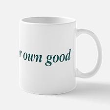 Too Smart For Own Good Mug