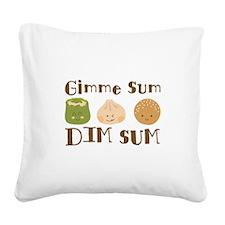 Gimme Sum Square Canvas Pillow