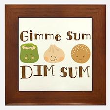 Gimme Sum Framed Tile