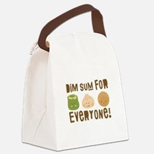 Dim Sum Everyone Canvas Lunch Bag