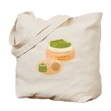 Dim Sum Border Tote Bag