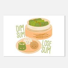 Dim Sum Lose Sum Postcards (Package of 8)