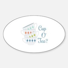 Cup O Tea Decal