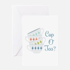 Cup O Tea Greeting Cards