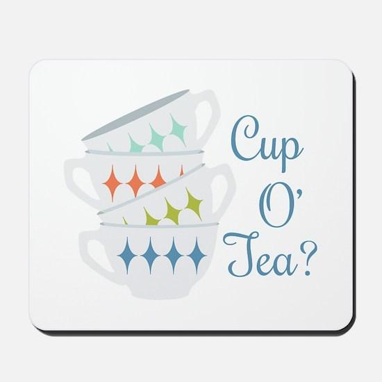 Cup O Tea Mousepad