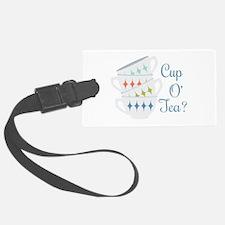 Cup O Tea Luggage Tag
