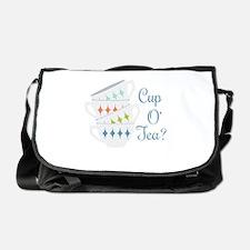 Cup O Tea Messenger Bag