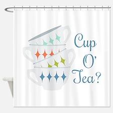 Cup O Tea Shower Curtain