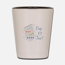 Cup O Tea Shot Glass