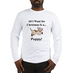 Christmas Puppy Long Sleeve T-Shirt
