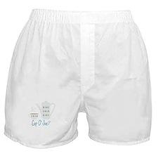 Cup O Joe Boxer Shorts