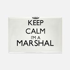Keep calm I'm a Marshal Magnets