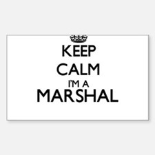 Keep calm I'm a Marshal Decal