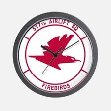 517th Airlift Squadron.png Wall Clock