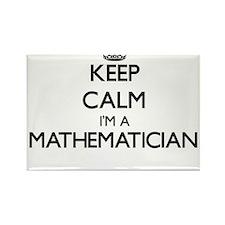 Keep calm I'm a Mathematician Magnets