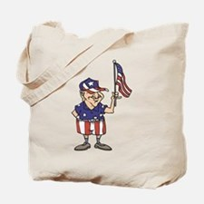 Old American Dude Tote Bag