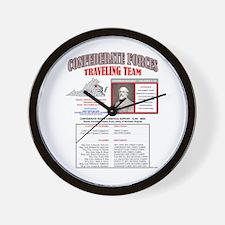 BATTLE OF FREDERICKSBURG, VIRGINIA, CON Wall Clock