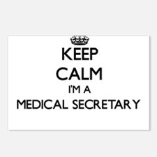Keep calm I'm a Medical S Postcards (Package of 8)