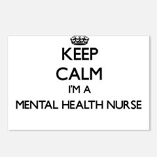 Keep calm I'm a Mental He Postcards (Package of 8)