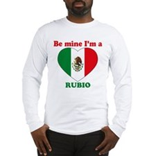 Rubio, Valentine's Day Long Sleeve T-Shirt