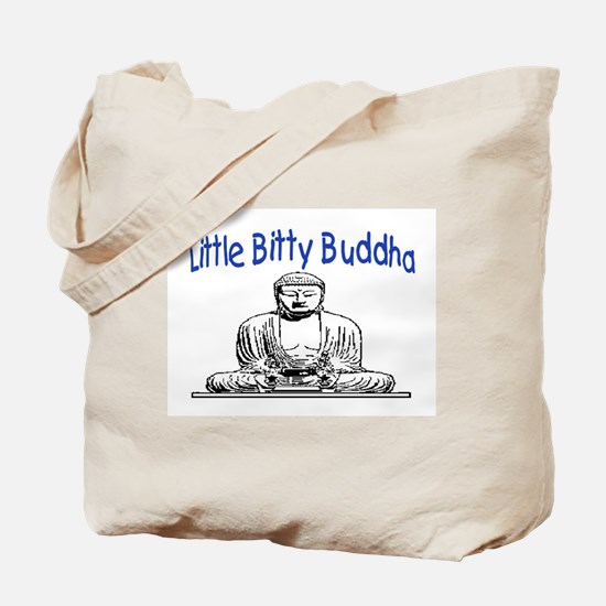 LITTLE BITTY BUDDHA Tote Bag
