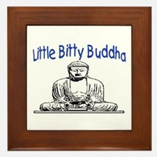 LITTLE BITTY BUDDHA Framed Tile