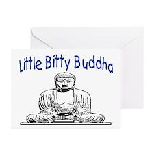 LITTLE BITTY BUDDHA Greeting Cards (Pk of 10)