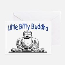 LITTLE BITTY BUDDHA Greeting Cards (Pk of 10)