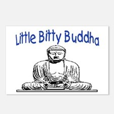 LITTLE BITTY BUDDHA Postcards (Package of 8)