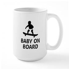 Baby On Board Pun Mug