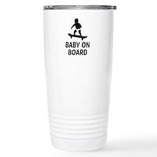 Baby On Board Pun Travel Mug