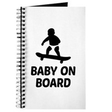 Baby On Board Pun Journal
