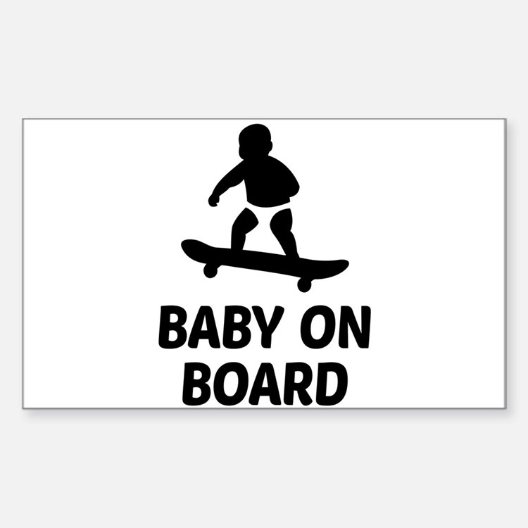 Baby On Board Pun Decal